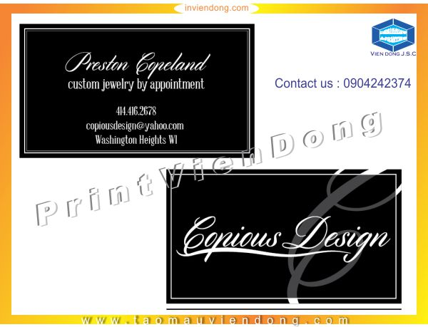 Print Business Cards in Hanoi | Print Certificate | Print Ha Noi