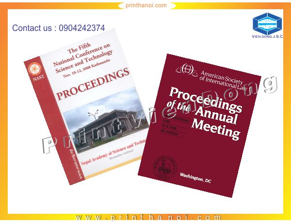 Proceedings Printing in Hanoi | Foil business card and embossed business card | Print Ha Noi