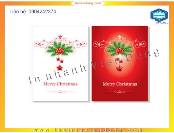 Print greeting Christmas cards | Print plastic bags in hanoi | Print Ha Noi