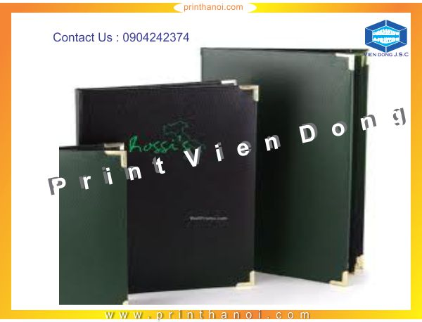 Print leather cover books in Hanoi | 2016 cheap calendar printing in Hanoi | Print Ha Noi