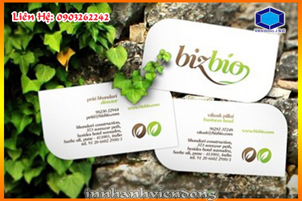 24 hour cheap- fast business cards at Ha Noi | Foil business card and embossed business card | Print Ha Noi
