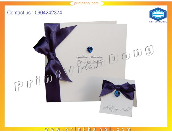 Print wedding invitations | Cheap matrix LED light full colours in Ha Noi | Print Ha Noi