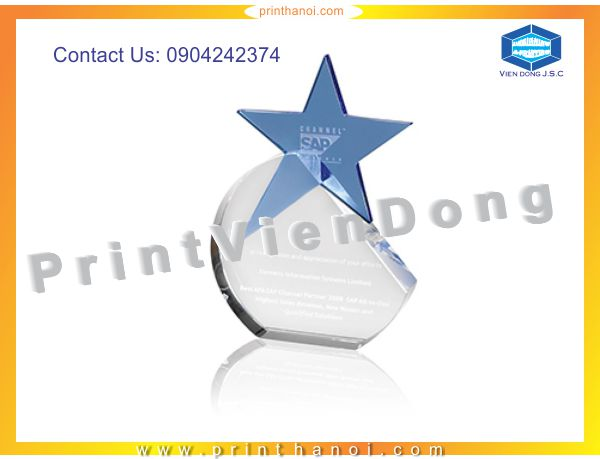 Print crystal gift | Appointment Cards in Ha Noi | Print Ha Noi