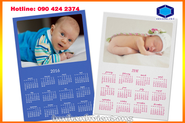 Print cheap photo calendar  | Print Envelopes | Print Ha Noi