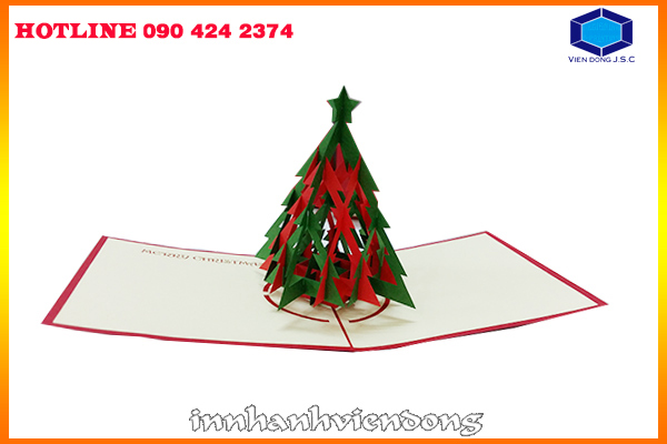 3D printing Christmas cards pretty cheap in Hanoi | Print Certificate | Print Ha Noi