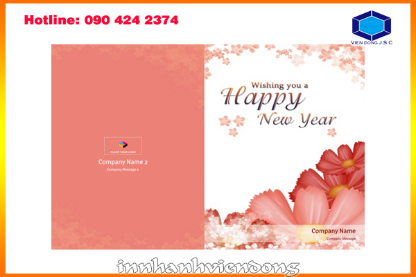 Print greeting cards are you looking a place to printing premium new year greeting card for your company vien dong printshop is the best choice for you m4hsunfo