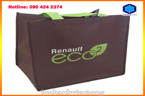 Print on Non-woven bag | Fat business cards with cheap price in Ha Noi | Print Ha Noi