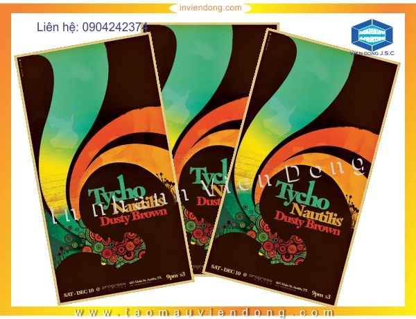 Cheap Poster printing | Fast print business card in Ha Noi | Print Ha Noi