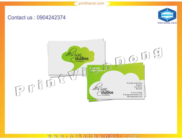 Premium Business Card Printing in Ha Noi | Cheap matrix LED light full colours in Ha Noi | Print Ha Noi