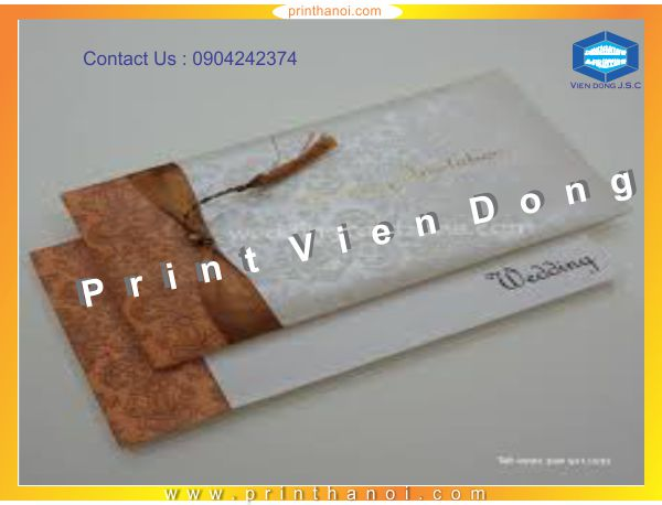 Cheap Wedding Invitation Printing | Print cheap labels | Print Ha Noi