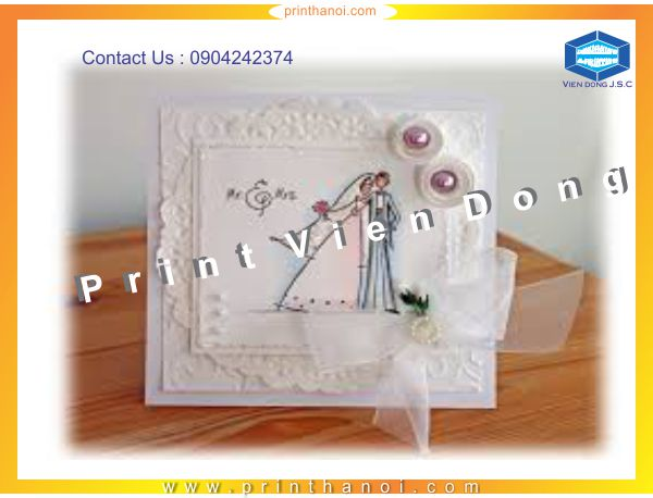 Wedding Invitation Printing | Print Envelopes | Print Ha Noi