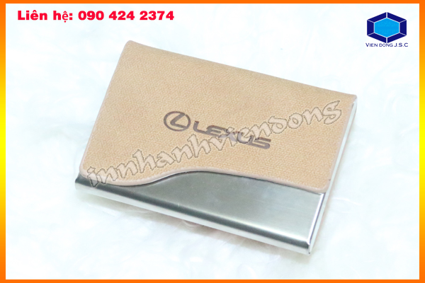 Premium Business Card Holder In Hanoi | Print Sticker | Print Ha Noi