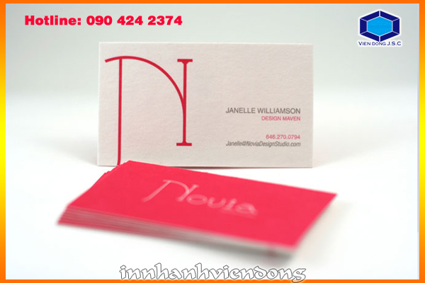 Print business card in Ha Noi | Print Certificate | Print Ha Noi