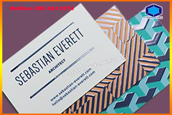 Print card visit free design in Ha Noi | Cheap Folded Business Cards Printing | Print Ha Noi