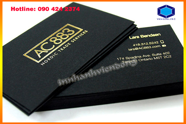 Original Business Cards in Ha Noi | Fast printing menu | Print Ha Noi