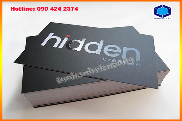 Fat business cards with cheap price in Ha Noi | Print plastic bags in hanoi | Print Ha Noi