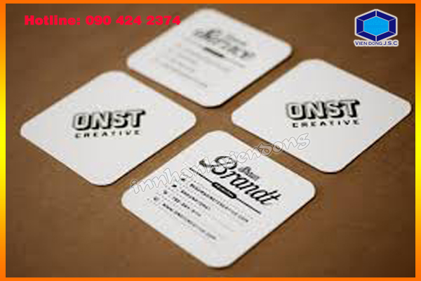 Square Business Cards in Ha Noi | Print carton box with cheap price in Ha Noi | Print Ha Noi