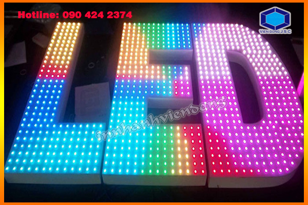 Cheap matrix LED light full colours in Ha Noi | 2016 cheap calendar printing in Hanoi | Print Ha Noi