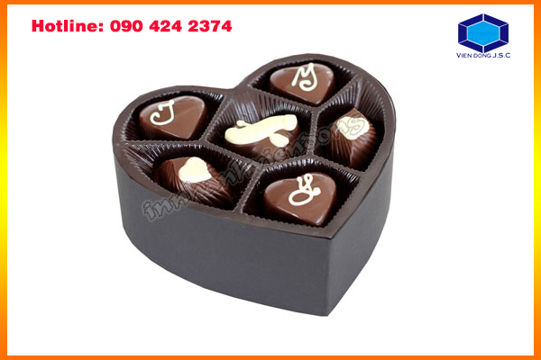Beautiful Chocolate Box in Ha Noi | Label Printing Services | Print Ha Noi