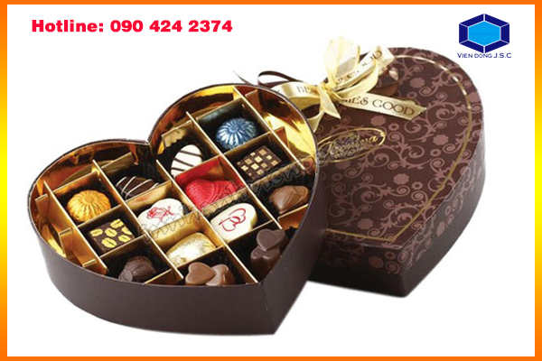 New models gift box in Ha Noi | Fast printing menu | Print Ha Noi