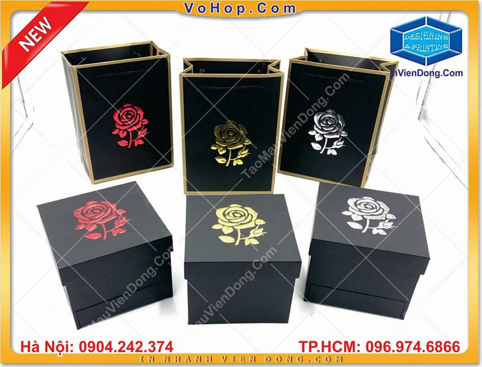 Secret Flower Box | Print plastic bags in hanoi | Print Ha Noi