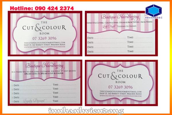 print cheap appointment card