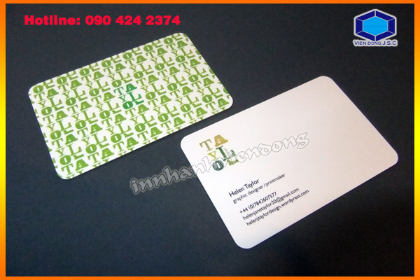 Business Card Stickers in Ha Noi