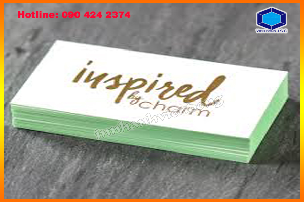 Gold Foil Business Cards cheap price