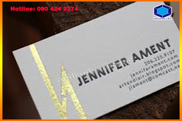 Gold Foil Business Cards fast print