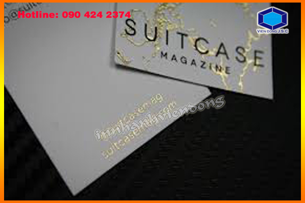 Gold Foil Business Cards in Ha Noi
