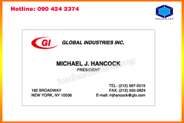 address print card in ha noi