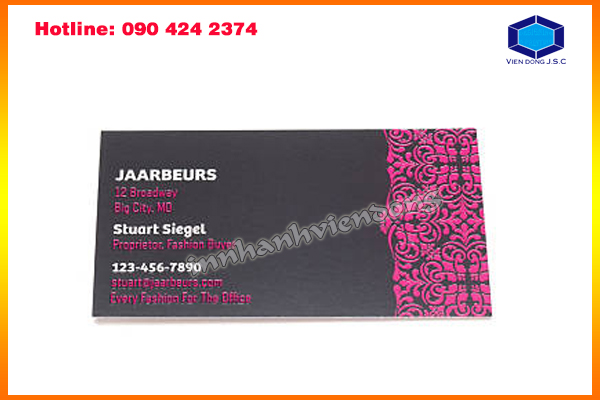 printing business card