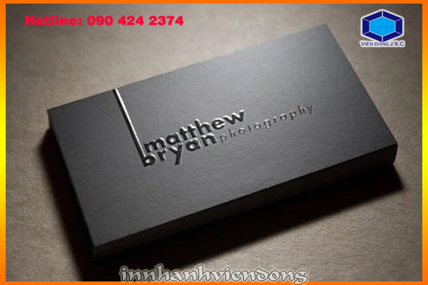 print business card in Ha Noi