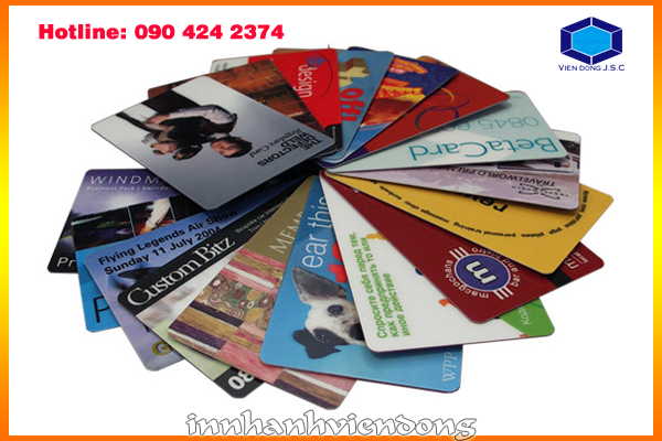 Print cheap PVC card in Ha Noi