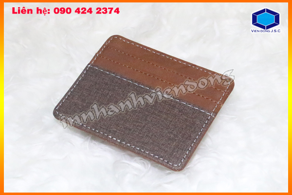 business card wallet in hanoi