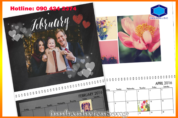 print calendar for your kids in Hanoi
